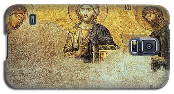 Deesis Mosaic Hagia Sophia-christ Pantocrator-judgement Day Galaxy S5 Case