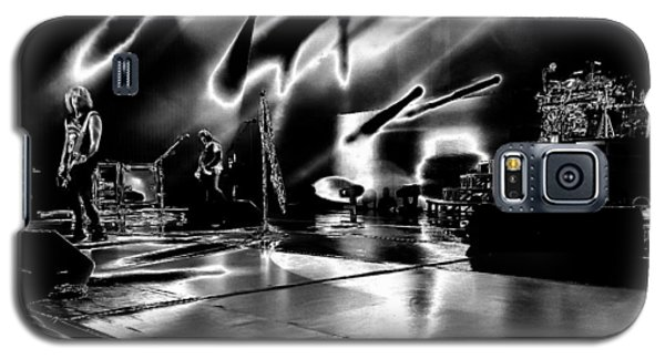 Def Leppard At Saratoga Springs 5 Galaxy S5 Case by David Patterson