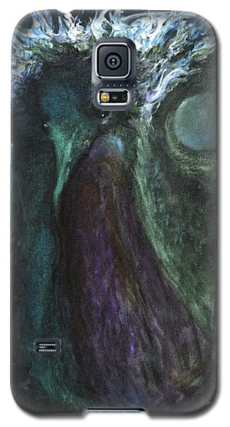 Galaxy S5 Case featuring the painting Deformed Transcendence by Christophe Ennis