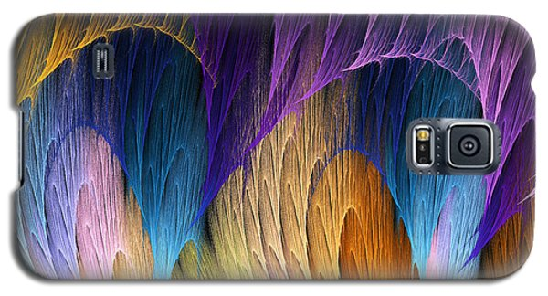 Galaxy S5 Case featuring the digital art Defying The Law Of Gravity by Lea Wiggins