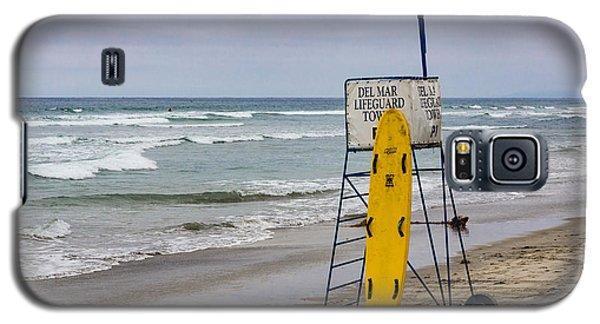 Del Mar Lifeguard Tower Galaxy S5 Case