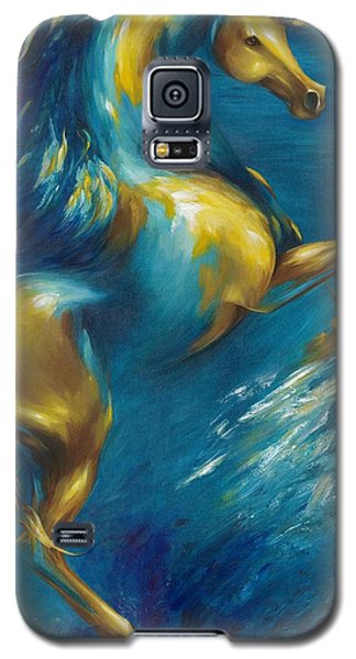 Galaxy S5 Case featuring the painting Del Sol by Dina Dargo