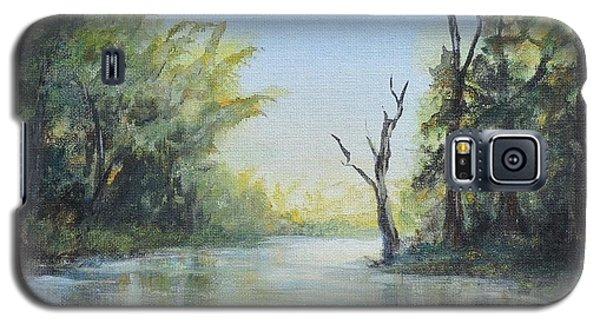 Delaware River  Galaxy S5 Case by Luczay