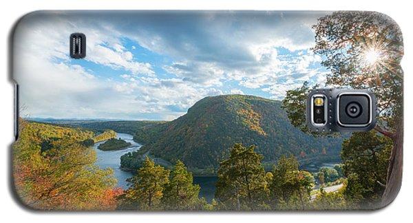 Delaware Water Gap In Autumn Galaxy S5 Case