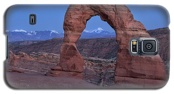 Delicate Arch At Twilight Galaxy S5 Case