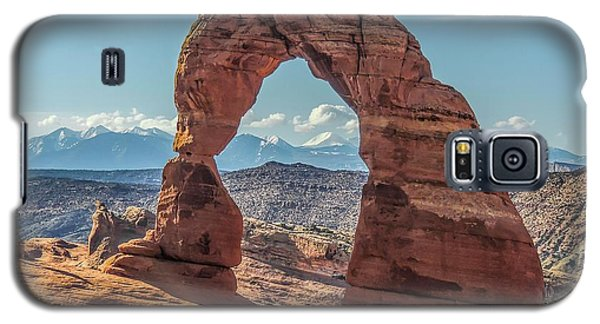 Delicate Arch In Early Morning Galaxy S5 Case