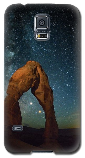 Delicate Arch Moonset Galaxy S5 Case