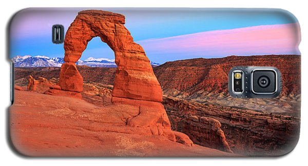 Delicate Arch Sunset Galaxy S5 Case