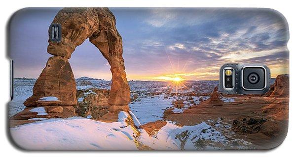 Delicate Arch Winter Galaxy S5 Case