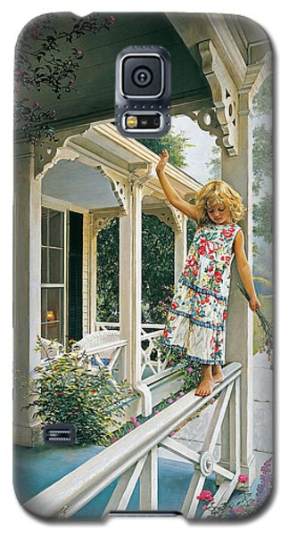 Galaxy S5 Case featuring the painting Delicate Balance by Greg Olsen