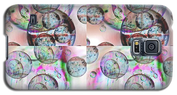 Galaxy S5 Case featuring the photograph Delicate Bubbles by Nareeta Martin