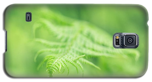 Delicate Fern - Hipster Photo Square Galaxy S5 Case