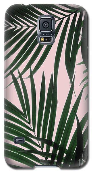Delicate Jungle Theme Galaxy S5 Case