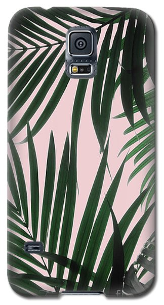 Delicate Jungle Theme Galaxy S5 Case
