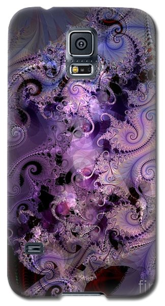 Delicate Lavender Forms Galaxy S5 Case by Ron Bissett