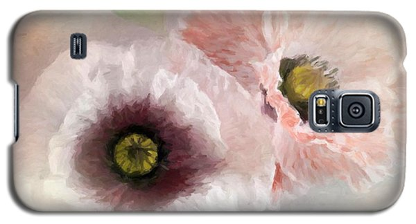 Delicate Pastel Poppies Galaxy S5 Case