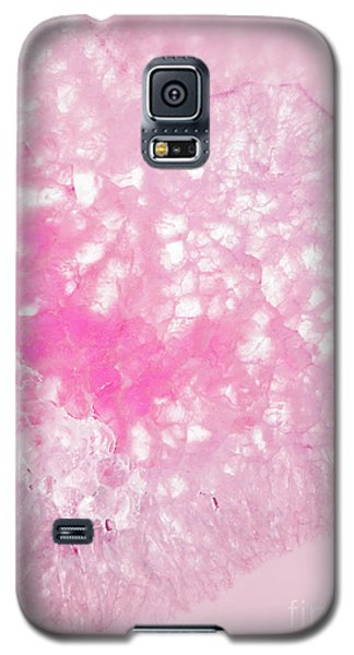 Delicate Pink Agate Galaxy S5 Case