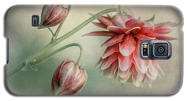 Delicate Red Columbine Galaxy S5 Case