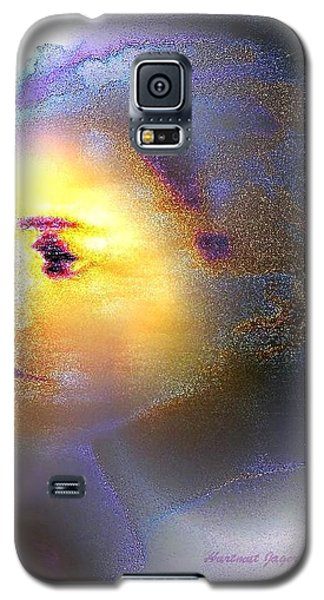 Galaxy S5 Case featuring the painting Delicate  Woman by Hartmut Jager