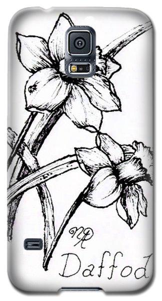 Delightful Daffodils Galaxy S5 Case