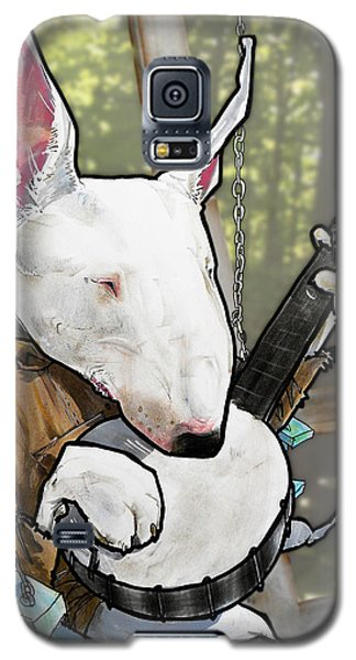 Deliverance Bull Terrier Caricature Art Print Galaxy S5 Case