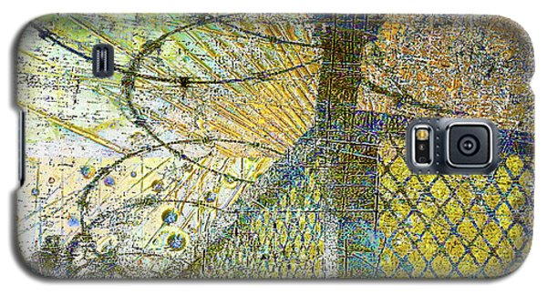 Galaxy S5 Case featuring the mixed media Deliverance by Tony Rubino