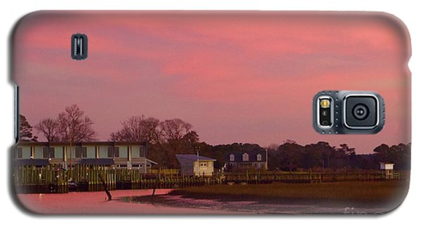 Delmarva Sunrise Galaxy S5 Case by Alice Mainville