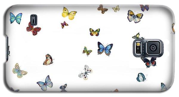 Butterfly Galaxy S5 Case - Delphine by Amy Kirkpatrick