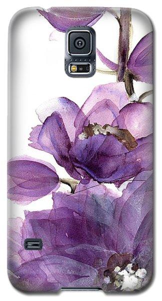 Delphinium Galaxy S5 Case