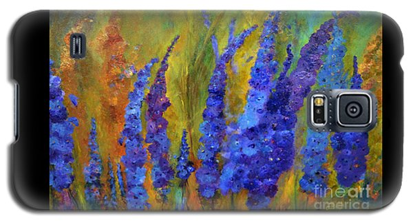 Delphiniums Galaxy S5 Case