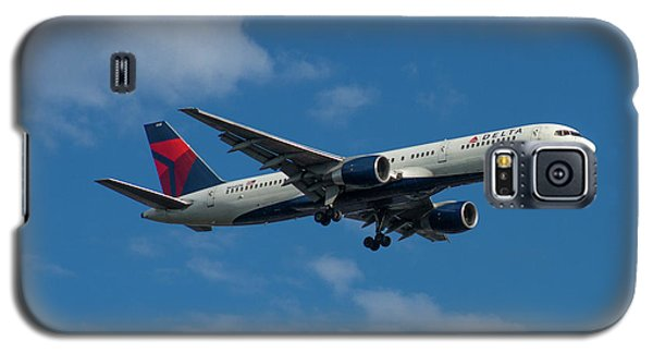 Delta Air Lines 757 Airplane N668dn Galaxy S5 Case by Reid Callaway