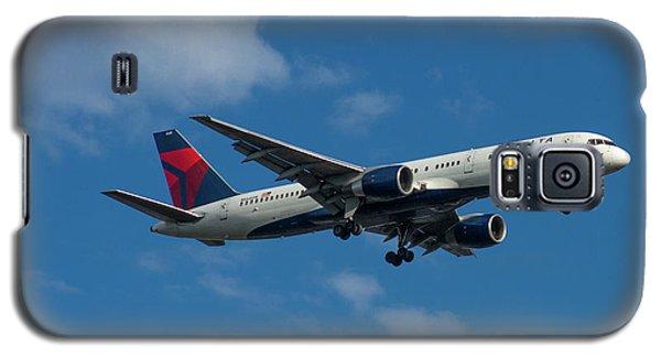 Delta Air Lines 757 Airplane N668dn Galaxy S5 Case