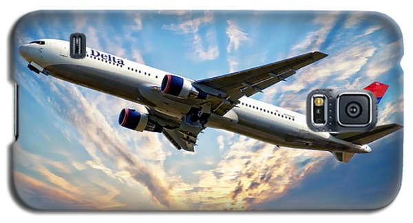 Delta Passenger Plane Galaxy S5 Case