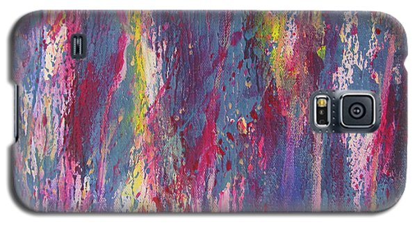 Galaxy S5 Case featuring the painting Delve Deep 2 by Mini Arora