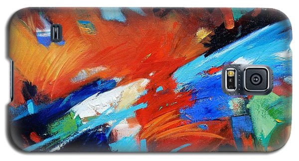 Galaxy S5 Case featuring the painting Demo by Gary Coleman
