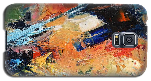 Galaxy S5 Case featuring the painting Demo Sketch by Gary Coleman
