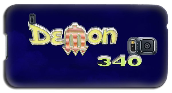Galaxy S5 Case featuring the photograph Demon 340 Emblem by Mike McGlothlen