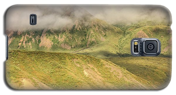Denali National Park Mountain Under Clouds Galaxy S5 Case