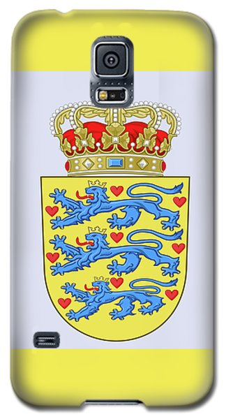 Denmark Coat Of Arms Galaxy S5 Case by Movie Poster Prints