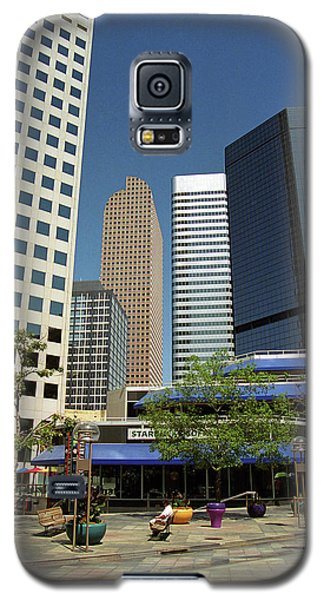 Galaxy S5 Case featuring the photograph Denver Architecture by Frank Romeo