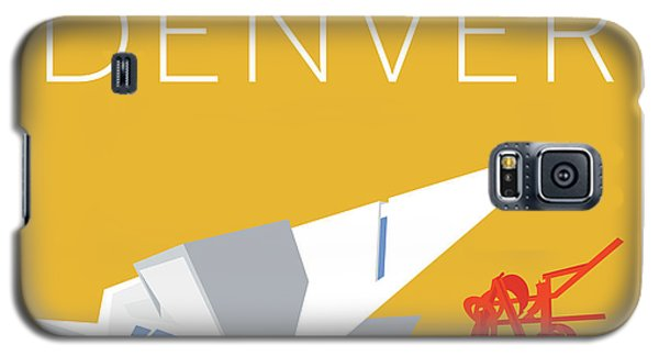 Denver Art Museum/gold Galaxy S5 Case