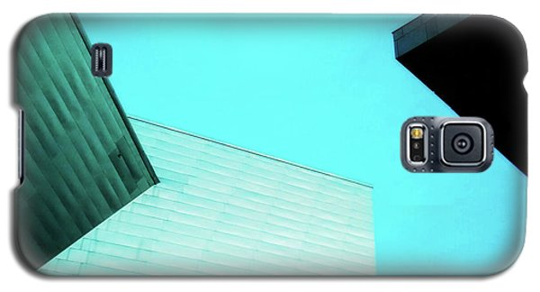 Galaxy S5 Case featuring the photograph Denver Art Museum Hamilton by Marilyn Hunt