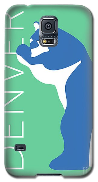 Denver Blue Bear/aqua Galaxy S5 Case