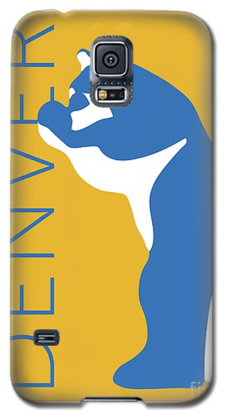 Denver Blue Bear/gold Galaxy S5 Case