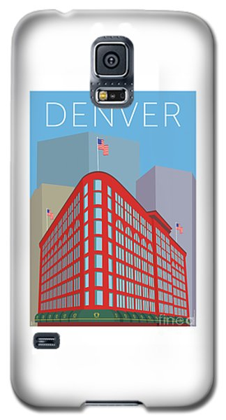 Denver Brown Palace/blue Galaxy S5 Case