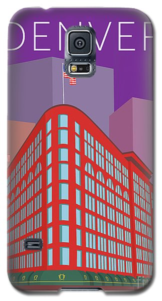 Denver Brown Palace/purple Galaxy S5 Case