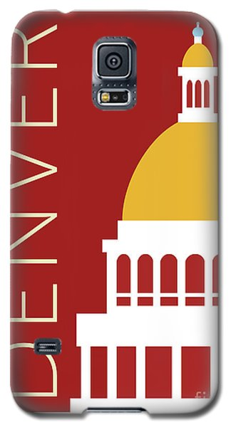 Denver Capitol/maroon Galaxy S5 Case
