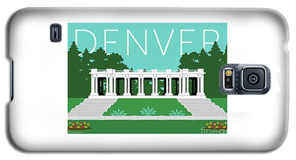 Denver Cheesman Park/lt Blue Galaxy S5 Case