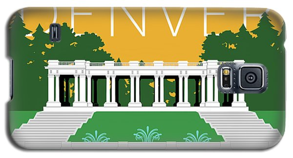 Denver Cheesman Park/gold Galaxy S5 Case