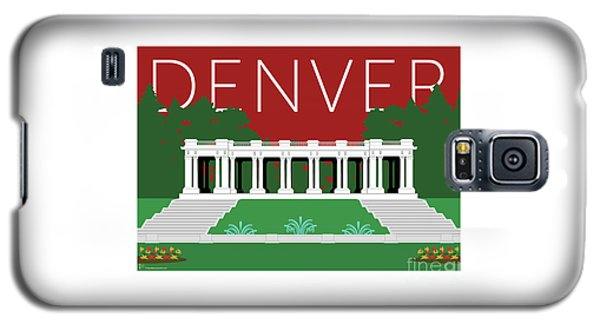 Denver Cheesman Park/maroon Galaxy S5 Case